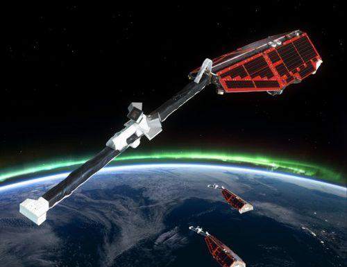 La costellazione di satelliti